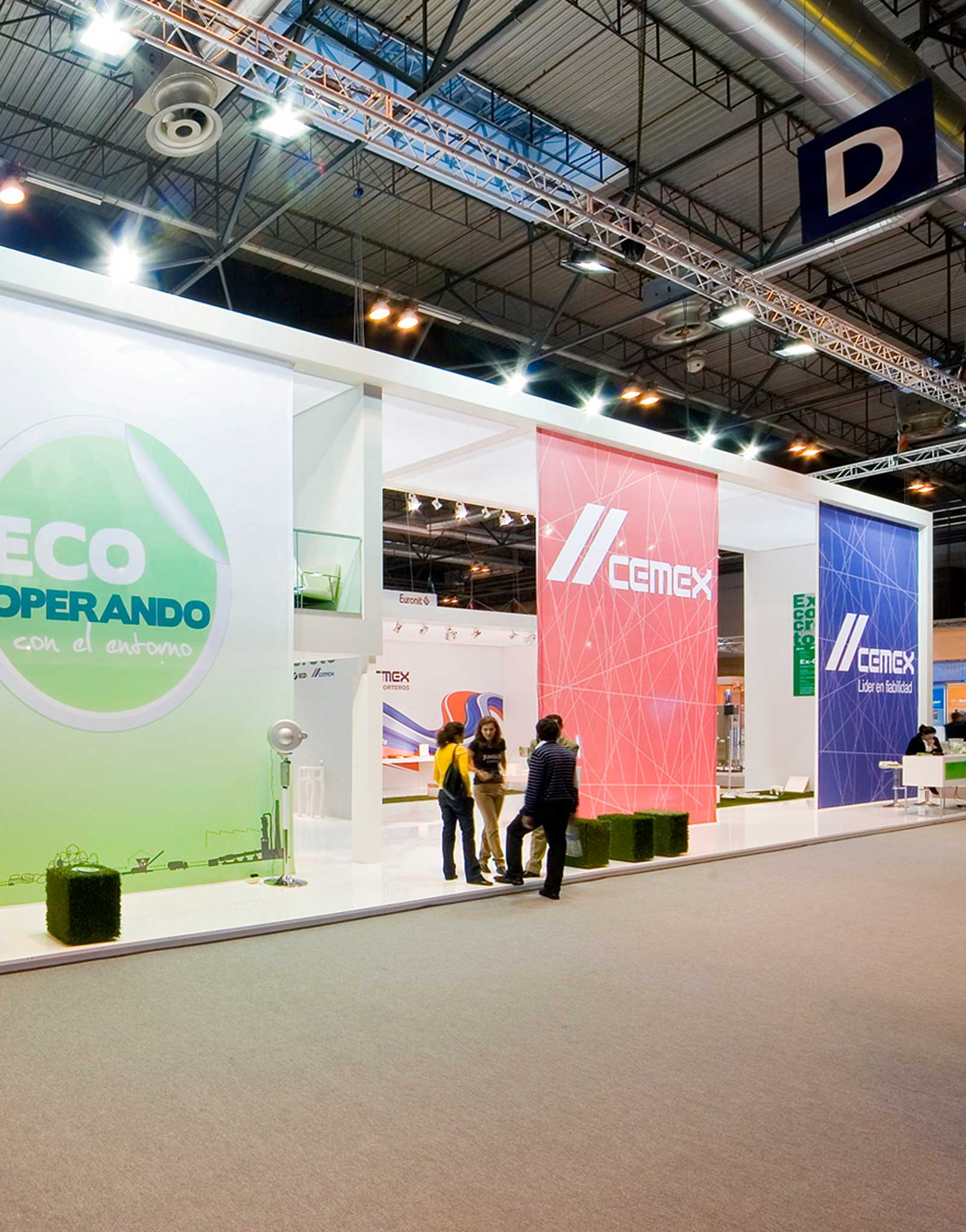 Diseño stand Cemex ECO