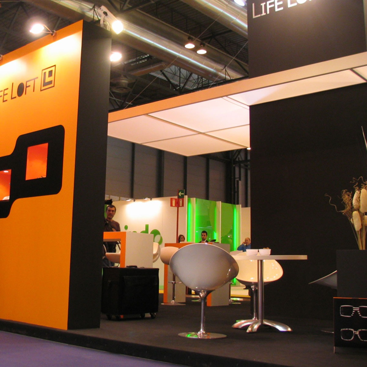 Diseño stand Life Loft 2