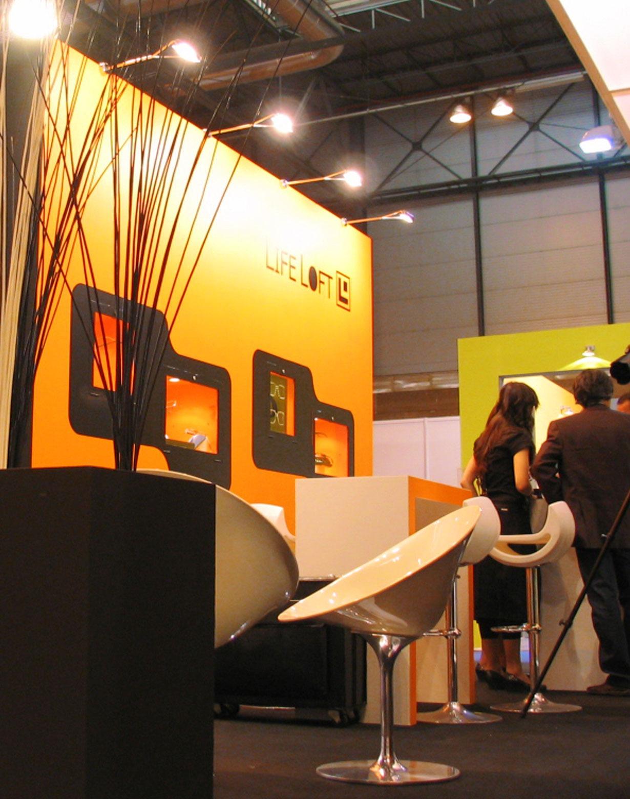 Diseño stand Life Loft 6