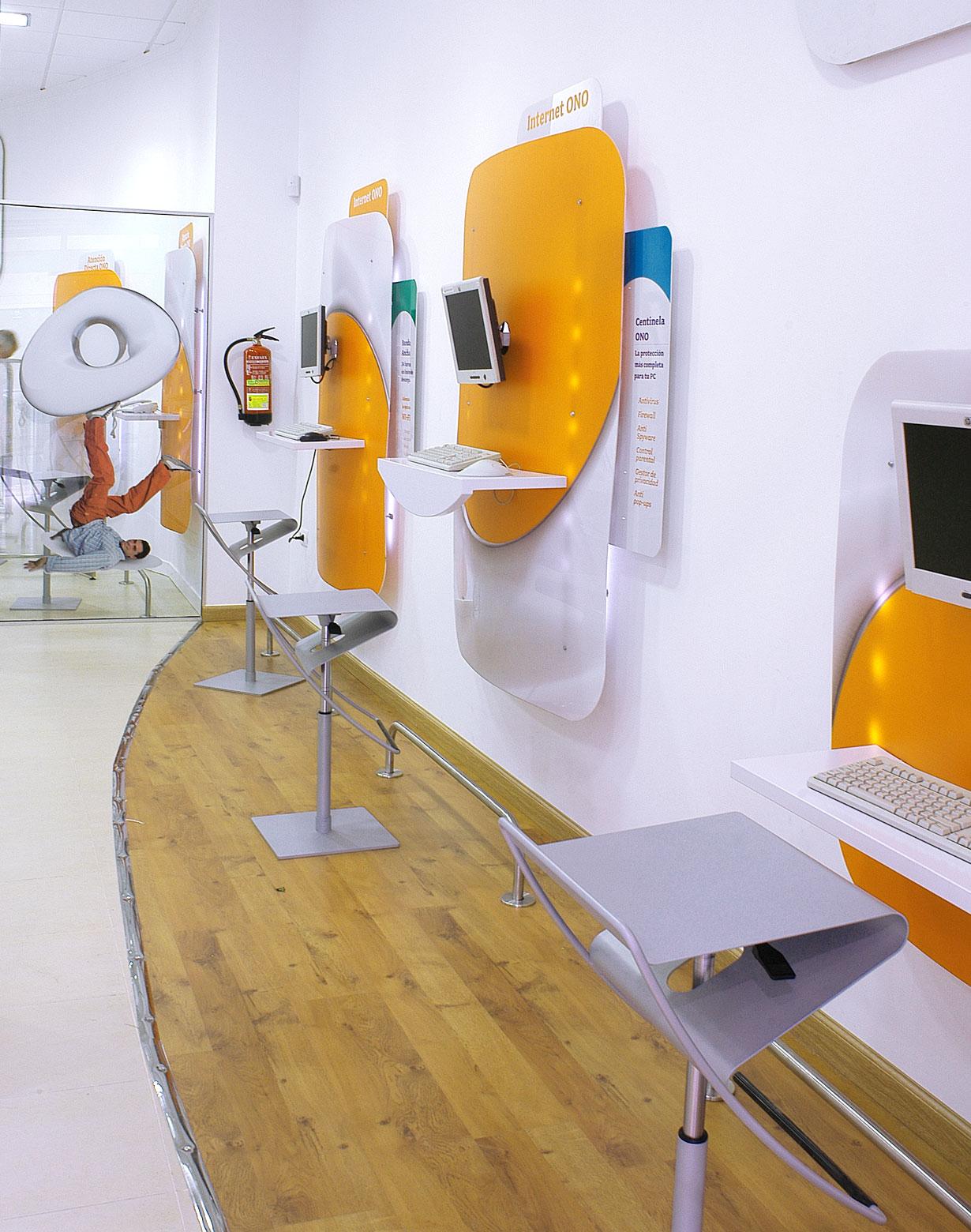 Diseño tiendas ONO 3
