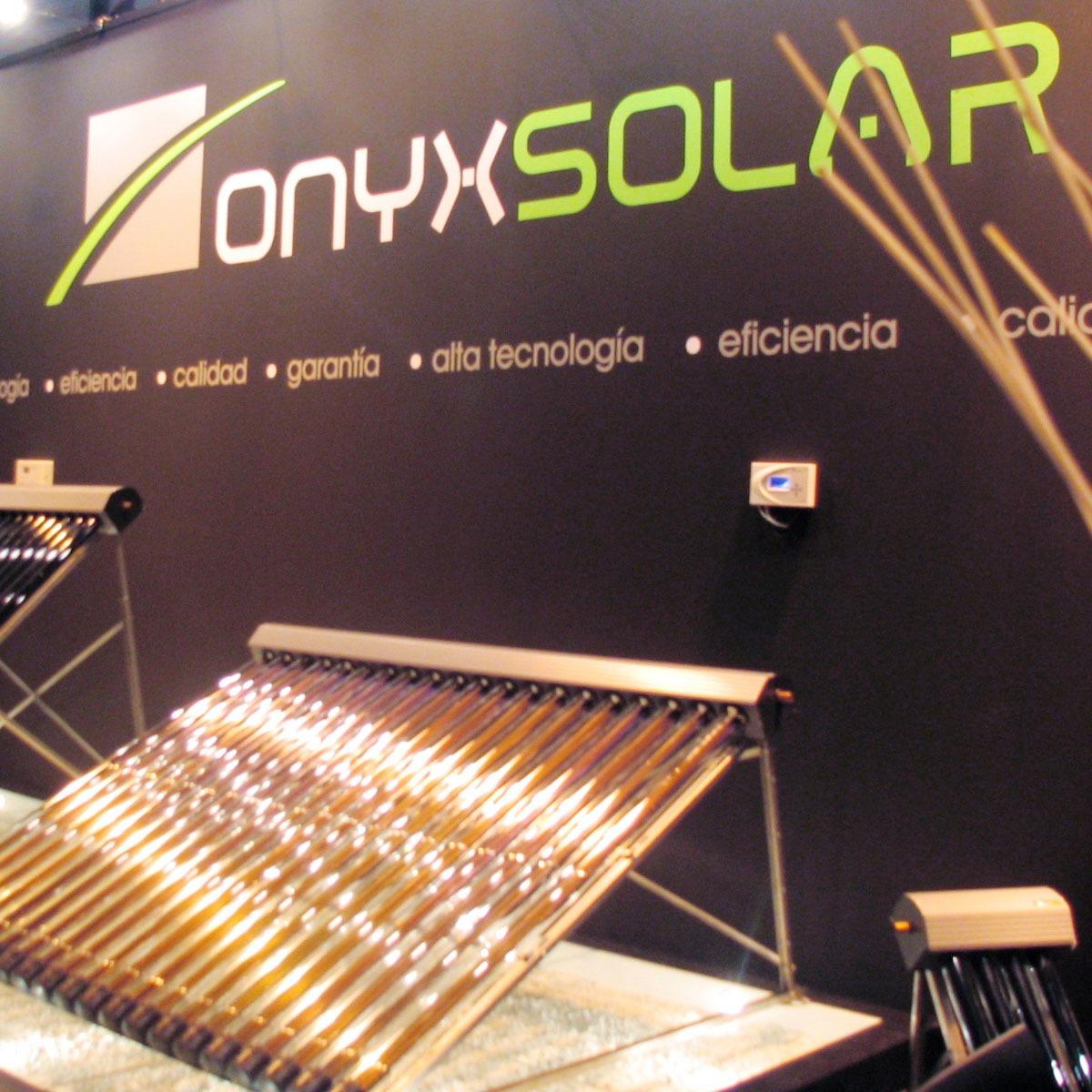 Diseño stand onyx solar 2