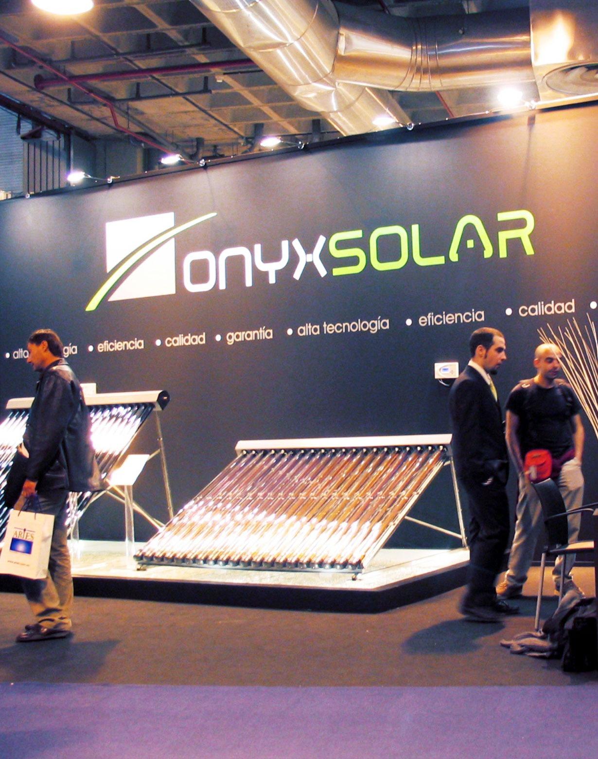 Diseño stand onyx solar 4