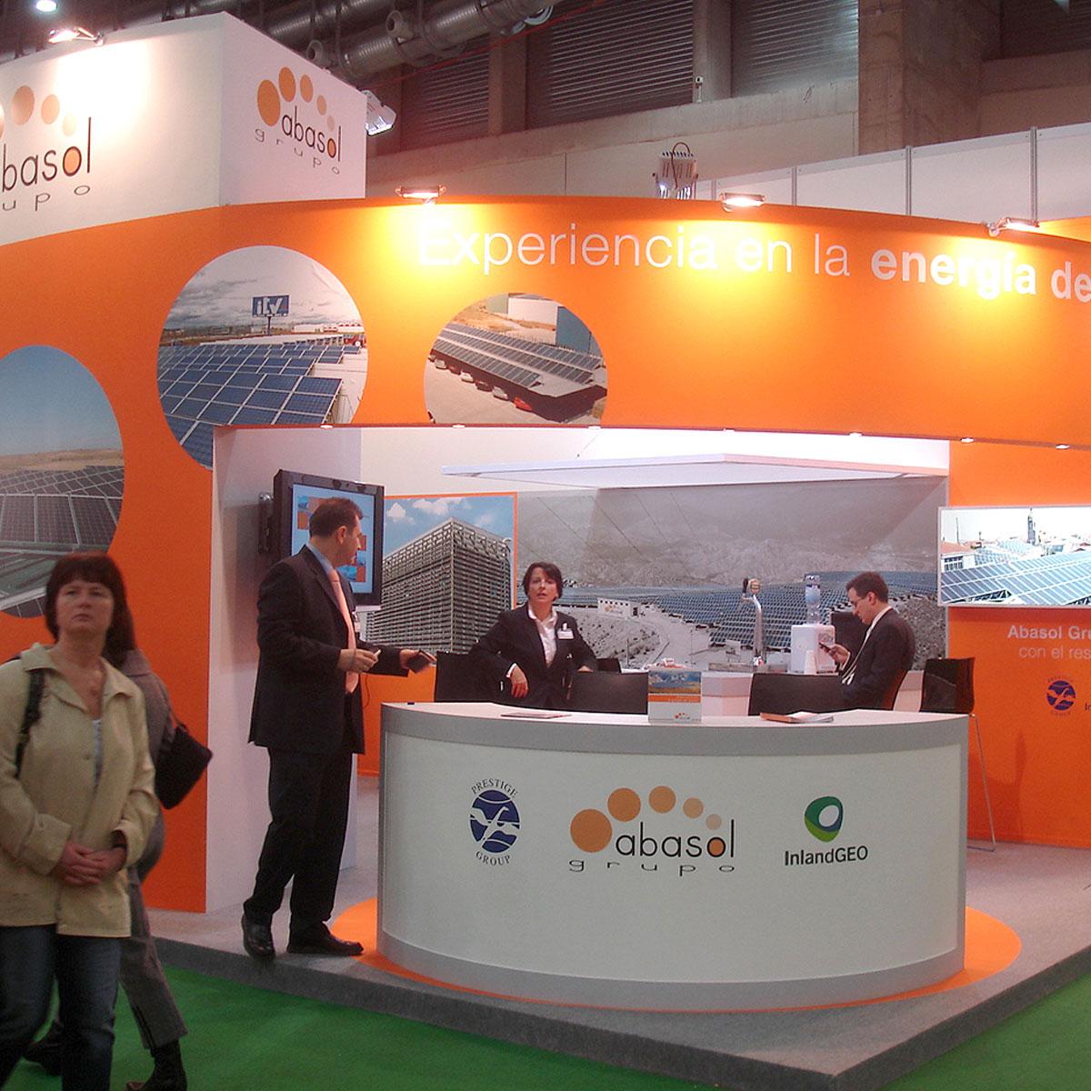 Diseño stand Abasol 4