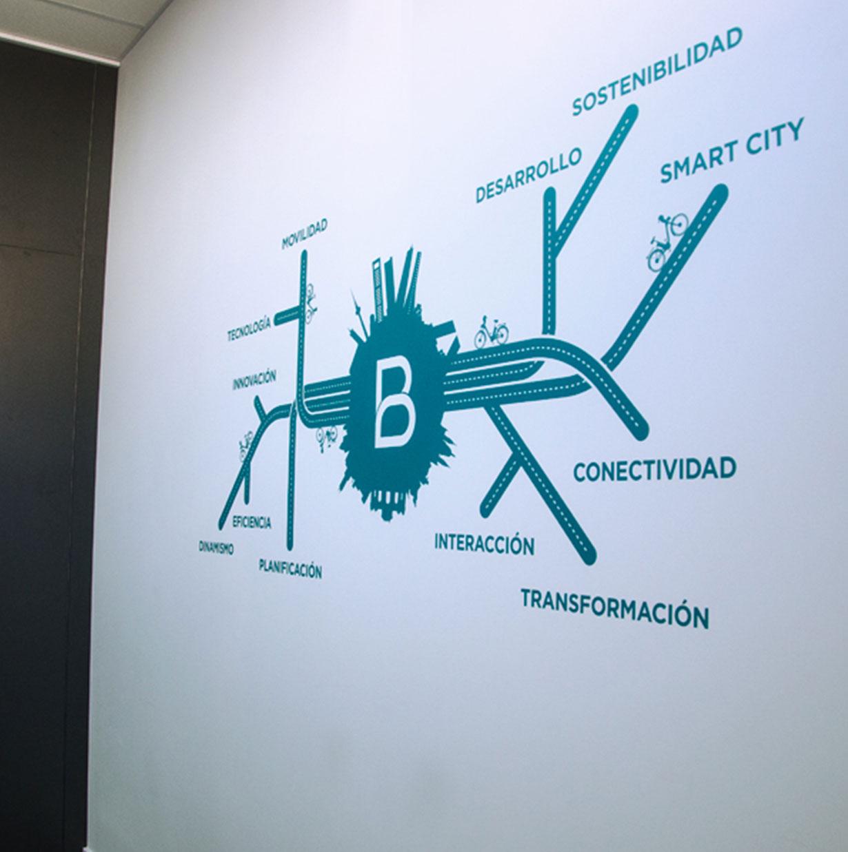 Diseño oficinas Bonopark 2
