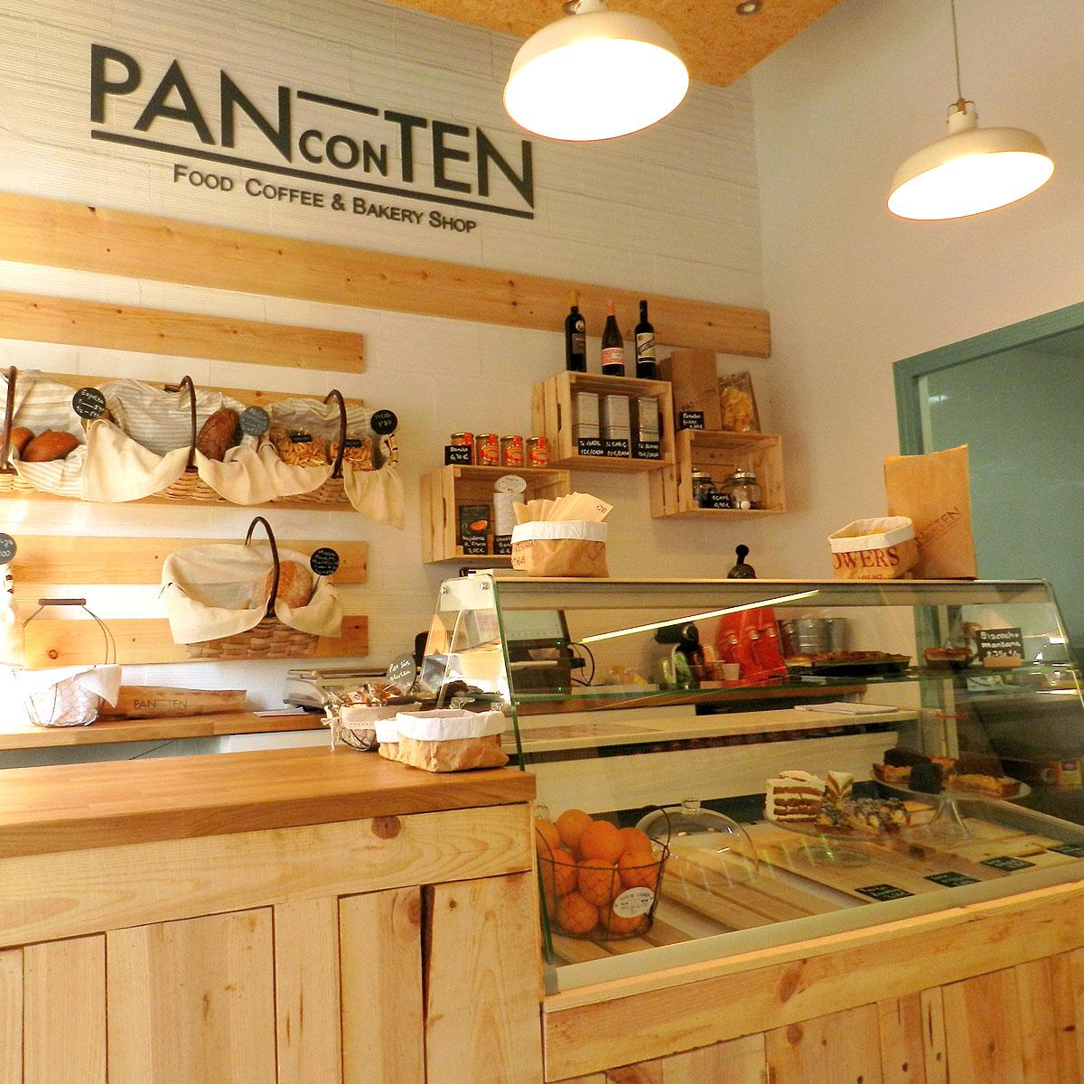 Diseño tienda panconten