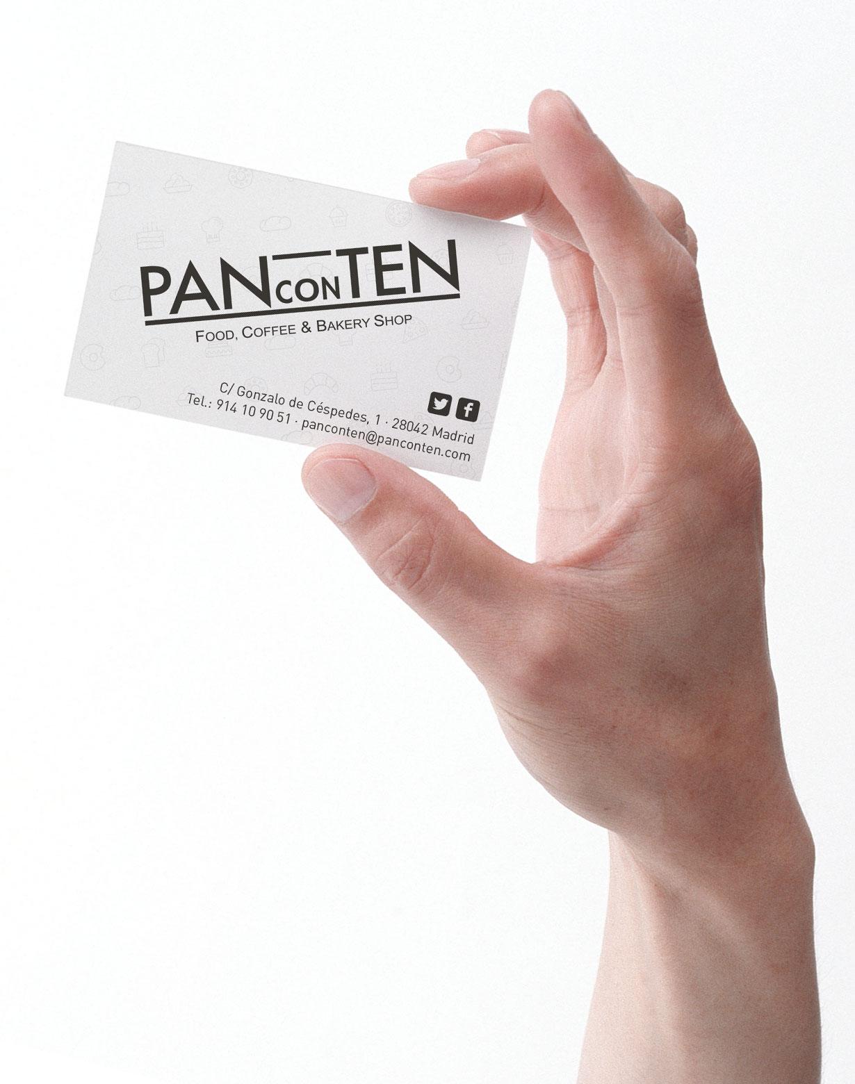 Diseño tarjeta panconten