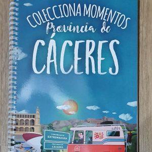 Merchandising Diputación de Cáceres block de notas