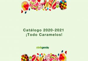 Catálogo chocolates y caramelos Zinkgenio 2020/2021